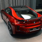 Lava Red BMW i8 21 175x175 at One Off Lava Red BMW i8 from Abu Dhabi