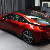 Lava Red BMW i8 23 175x175 at One Off Lava Red BMW i8 from Abu Dhabi