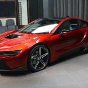Lava Red BMW i8 3 175x175 at One Off Lava Red BMW i8 from Abu Dhabi