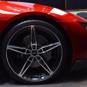 Lava Red BMW i8 7 175x175 at One Off Lava Red BMW i8 from Abu Dhabi