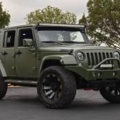 Matte Green Jeep Wrangler 1 175x175 at Spotlight: Custom Matte Green Jeep Wrangler