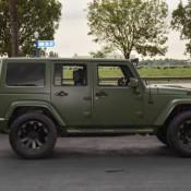 Matte Green Jeep Wrangler 12 175x175 at Spotlight: Custom Matte Green Jeep Wrangler
