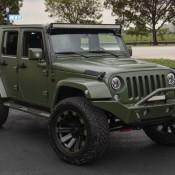 Matte Green Jeep Wrangler 2 175x175 at Spotlight: Custom Matte Green Jeep Wrangler
