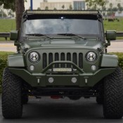 Matte Green Jeep Wrangler 4 175x175 at Spotlight: Custom Matte Green Jeep Wrangler