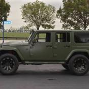 Matte Green Jeep Wrangler 7 175x175 at Spotlight: Custom Matte Green Jeep Wrangler