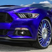 Mustang Gt Goes Semi Donk On Forgiato Wheels