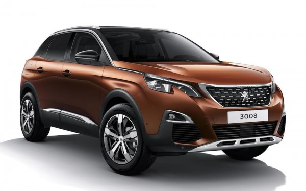 New Peugeot 3008 0 600x374 at Official: New Peugeot 3008 SUV