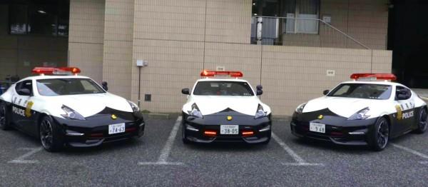 Nissan 370Z Nismo Police Car 2 600x262 at Nissan 370Z Nismo Police Car Revealed in Japan