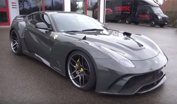 Novitec Ferrari F12 N Largo S vid 600x355 at Sights and Sounds: Novitec Ferrari F12 N Largo S