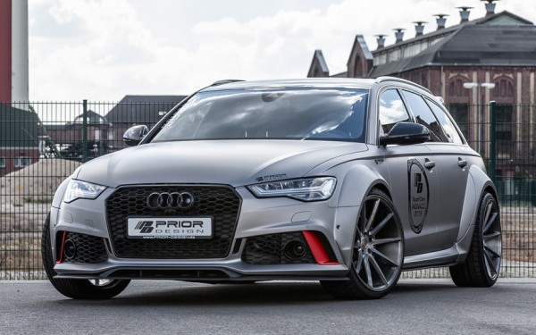 Prior Design Audi A6 RS6 0 600x375 at Prior Design Audi A6/RS6 Wide Body Kit