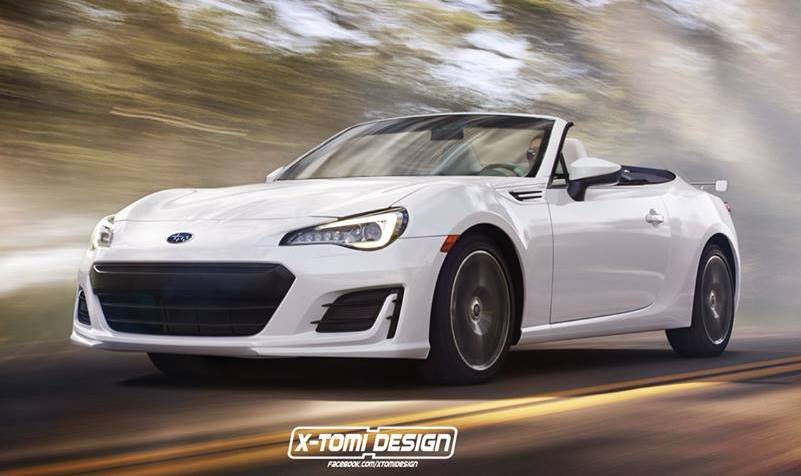 2017 Subaru Brz Convertible Rendered Still Not Happening