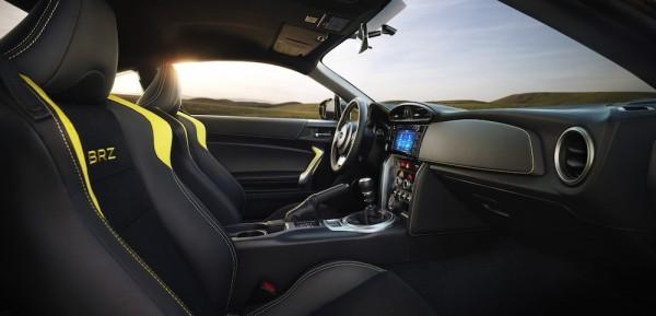 17BRZ Series.Yellow interior 600x289 at Official: 2017 Subaru BRZ Series Yellow