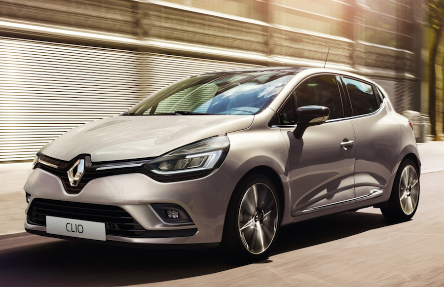 Official 2017 Renault Clio Facelift