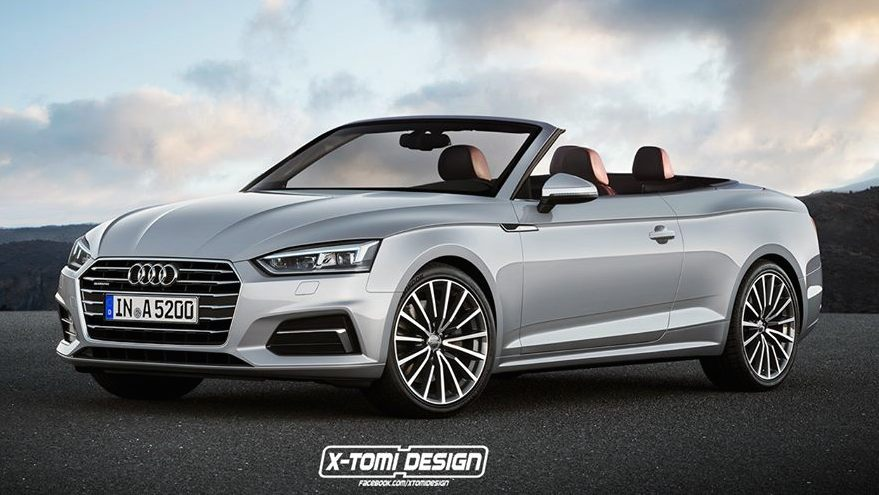 Rendering 2018 Audi A5 Cabriolet