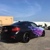 BMW M235i Rainbow Chrome 2 175x175 at BMW M235i with Rainbow Chrome Wrap