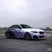 BMW M235i Rainbow Chrome 6 175x175 at BMW M235i with Rainbow Chrome Wrap