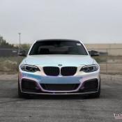 BMW M235i Rainbow Chrome 8 175x175 at BMW M235i with Rainbow Chrome Wrap