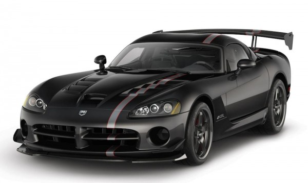 Dodge Viper special edition 0 600x358 at Dodge Viper Dies Again with Five Special Edition Models