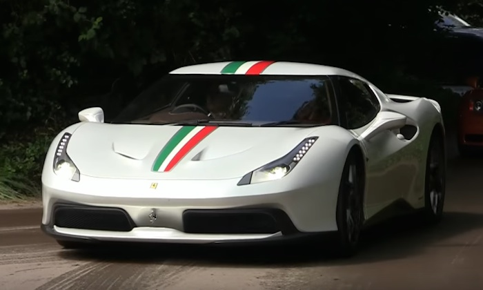Sights And Sounds Ferrari 458 Mm Speciale
