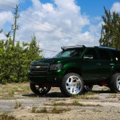 Kandy Green Chevrolet Tahoe 2 175x175 at Pimpin' on a Budget: Kandy Green Chevrolet Tahoe