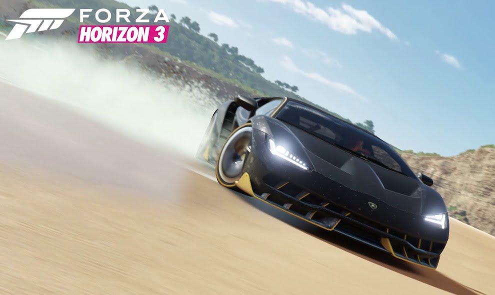 Lamborghini Centenario Forza 600x358 At Awesome Horizon 3 Trailer Reveals