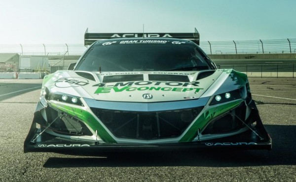 NSX Inspired Acura EV 2 600x370 at NSX Inspired Acura EV Concept Revealed for Pikes Peak