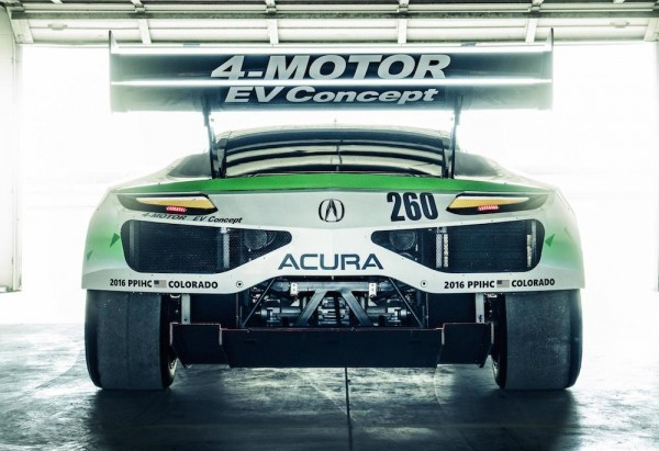 NSX Inspired Acura EV 3 600x411 at NSX Inspired Acura EV Concept Revealed for Pikes Peak