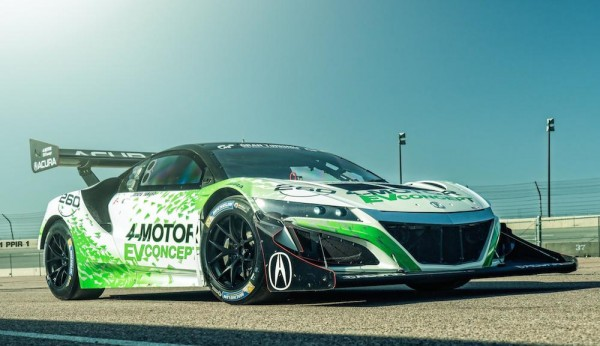 NSX Inspired Acura EV 4 600x346 at NSX Inspired Acura EV Concept Revealed for Pikes Peak