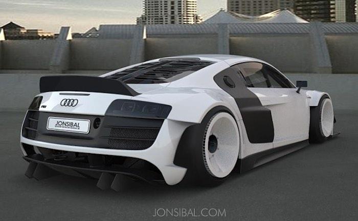 Virtual Tuning Custom Wide Body Audi R - Audi custom