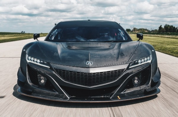 Acura NSX GT3 Racecar 0 600x394 at First Look: Acura NSX GT3 Racecar