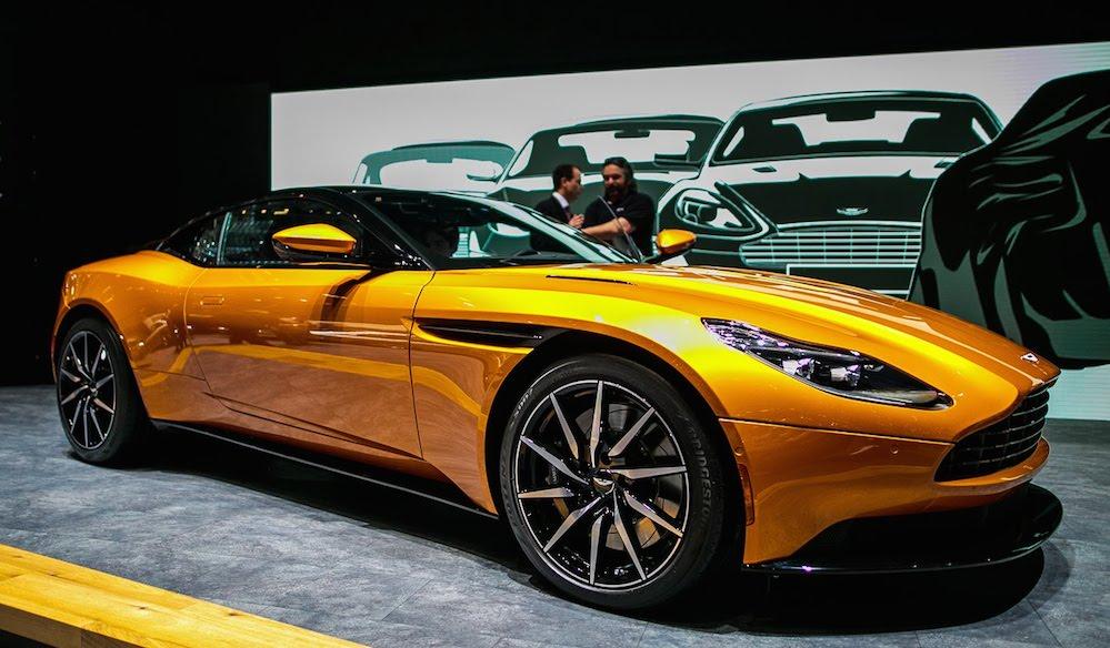 Jay Leno Plays Bond In 2017 Aston Martin Db11