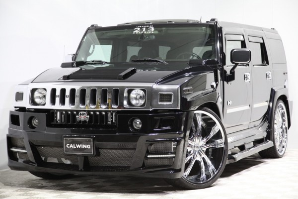 Calwing Hummer 0 600x400 at Calwing Hummer H2 Is the World's Fattest Car!