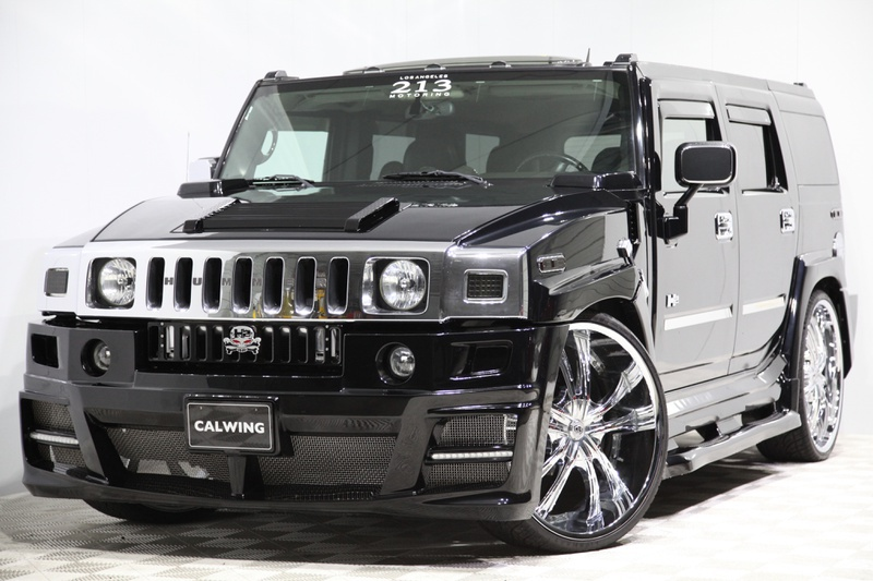 Calwing Hummer 0 at Calwing Hummer H2 Is the World's Fattest Car!