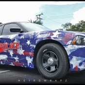Charger 4th of July 1 175x175 at Dodge Charger Police Car Gets 4th of July Wrap