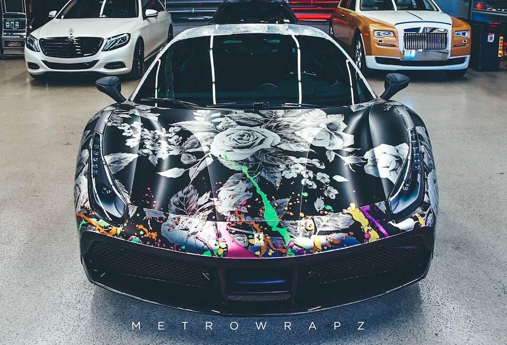 Ferrari 488 Chrome Couture By Metro Wrapz