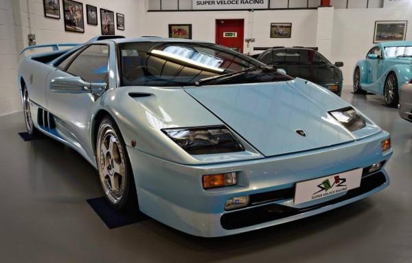 Ice Blue Lamborghini Diablo SV 0 600x383 at Ice Blue Lamborghini Diablo SV on Sale for £265K