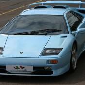 Ice Blue Lamborghini Diablo SV 5 175x175 at Ice Blue Lamborghini Diablo SV on Sale for £265K