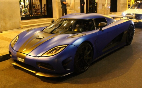 Koenigsegg Agera R Paris Spot 0 600x372 at Midnight in Paris with Koenigsegg Agera R