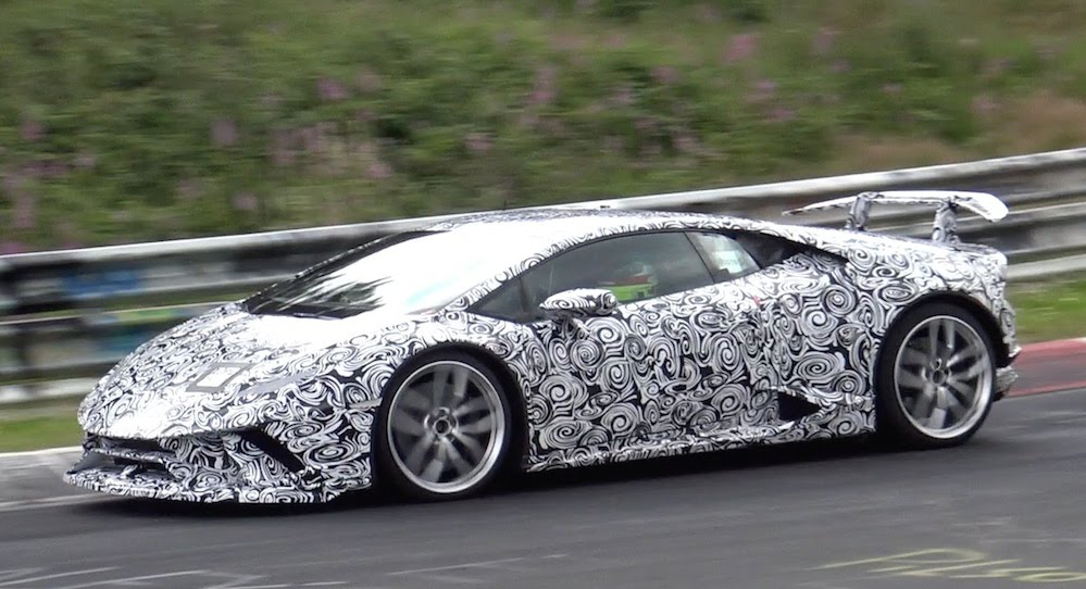 Lamborghini Huracan Superleggera at Lamborghini Huracan Superleggera Sighted at the 'Ring