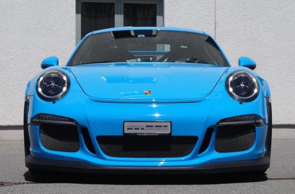 Mexico Blue Porsche GT3 RS 0 600x395 at Eye Candy: Mexico Blue Porsche GT3 RS