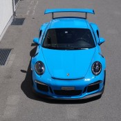 Mexico Blue Porsche GT3 RS 1 175x175 at Eye Candy: Mexico Blue Porsche GT3 RS