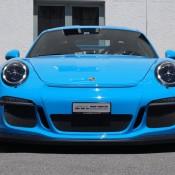 Mexico Blue Porsche GT3 RS 4 175x175 at Eye Candy: Mexico Blue Porsche GT3 RS