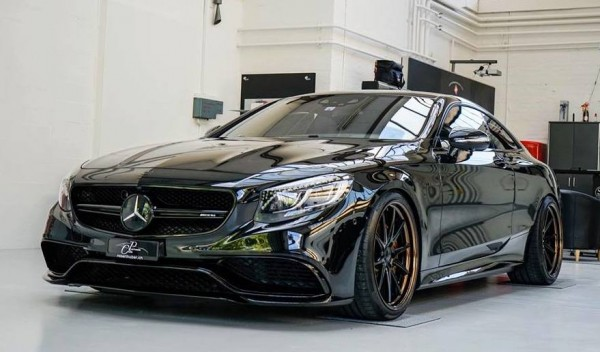 Murdered Out Mercedes S63 0 600x352 at Murdered Out Mercedes S63 Coupe by Platinum Cars