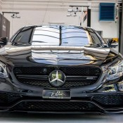 Murdered Out Mercedes S63 1 175x175 at Murdered Out Mercedes S63 Coupe by Platinum Cars