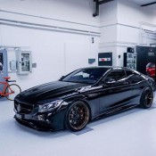 Murdered Out Mercedes S63 16 175x175 at Murdered Out Mercedes S63 Coupe by Platinum Cars