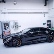 Murdered Out Mercedes S63 17 175x175 at Murdered Out Mercedes S63 Coupe by Platinum Cars