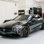 Murdered Out Mercedes S63 2 175x175 at Murdered Out Mercedes S63 Coupe by Platinum Cars
