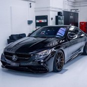 Murdered Out Mercedes S63 22 175x175 at Murdered Out Mercedes S63 Coupe by Platinum Cars