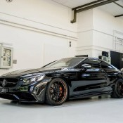 Murdered Out Mercedes S63 5 175x175 at Murdered Out Mercedes S63 Coupe by Platinum Cars