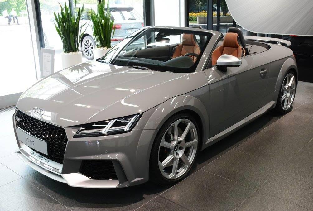 Audi Tt Rs Roadster Exclusive In Nardo Grey